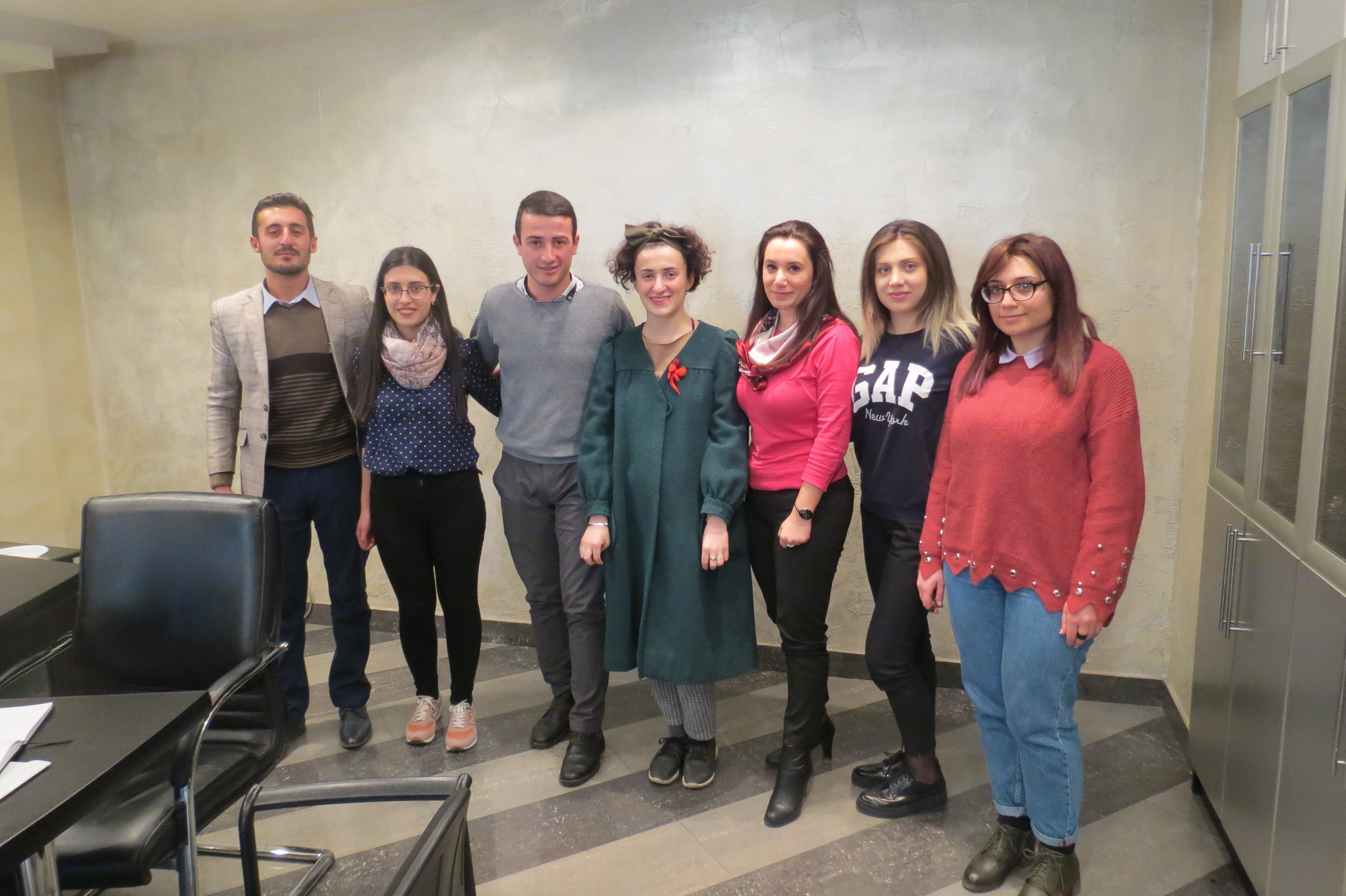 10.02-18.03.2018 - Preparation meeting with Armenian fellows in Yerevan